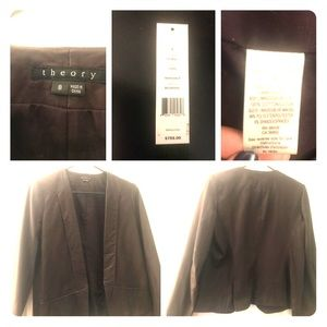 Theory- Lambskin leather jacket